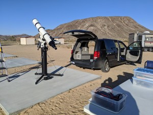 AP180 telescope and mount.